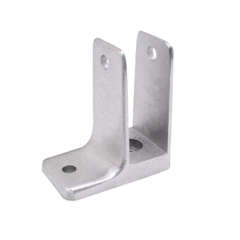 "Cast Stainless Steel, One Ear Wall Bracket For 7/8"" Material - 4165"