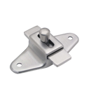 "Cast Stainless Steel Surface Mounted 3-1/2"" C To C Slide Latch 4505"