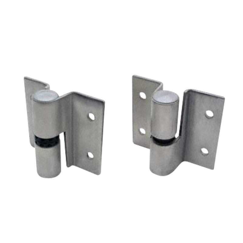 Restroom Compartment, Stamped Stainless Steel, Surface Mounted Door Hinges Assembly 4703