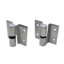Restroom Stall, Stamped Stainless Steel, Surface Mounted Door Hinges Assembly 4704