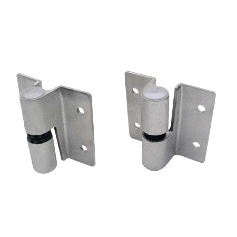 Stainless Steel Satin, Surface Mounted Door Hinges - 4712