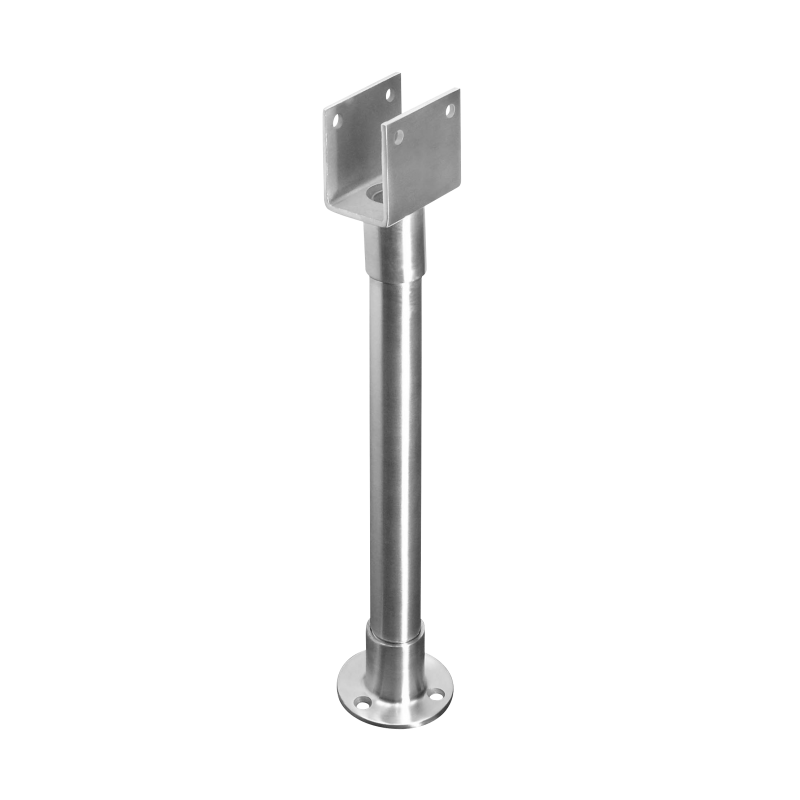 Stainless Steel Pilaster Support Bracket For 1-1/4' Pilasters - 4850