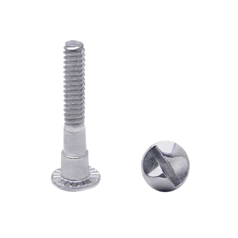 Chrome Plated , One Way, Rd Hd Shoulder Screw 100/PK 4980
