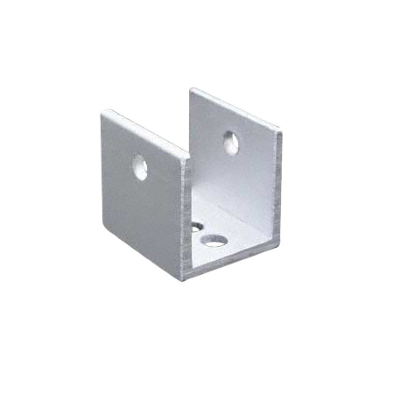 "Extruded Aluminum U Bracket For 1"" Material - 5191"