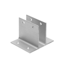 "Extruded Aluminum 3"" Length, Wall Brackets 5226"