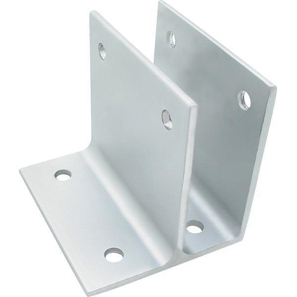 "Extruded Aluminum One Ear Bracket 1"" x 3"" - 5227"