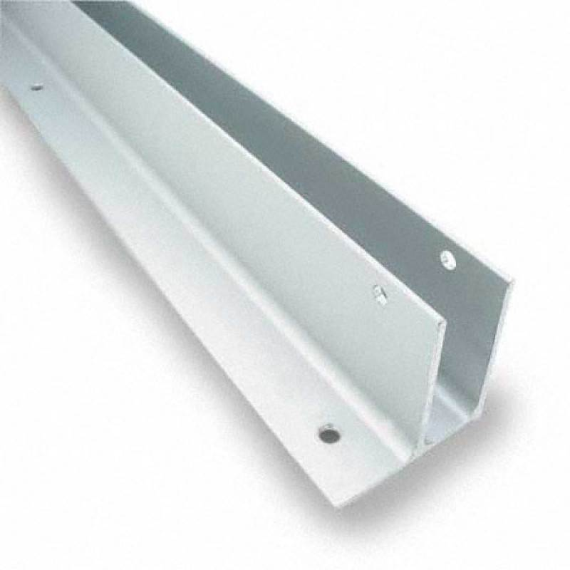 "Extruded Aluminum 57-1/2"" One Ear Wall Bracket For 3/4"" Material - 5436"