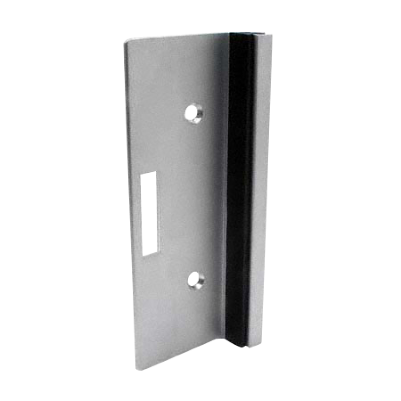 "Aluminum Extrusion Strike & Keeper, 6"" High 9579"