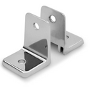 Chrome Plated Zamac, Mini 2 Piece Wall Bracket - 1158