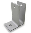 "Extruded Aluminum, One Ear Wall Bracket For 3/4"" Material - 5164"
