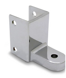 "Chrome Bottom Hinge For 1-1/4"" Material - 1313"