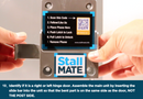 StallMATE - Restroom Mobile Phone Holder with Latch - SM-612