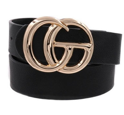 Faux CG Fashion Belt