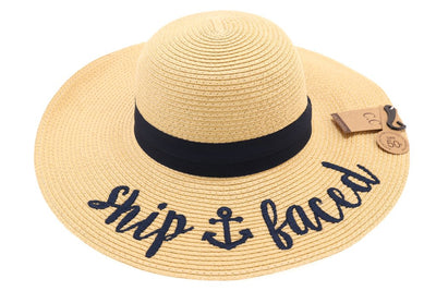Ship Faced Sun Hat
