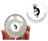 Kokopelli - Fertility Charm - A Special Edition Dandelion Paperweight