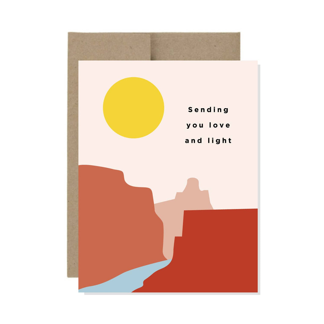 Love and Light Card
