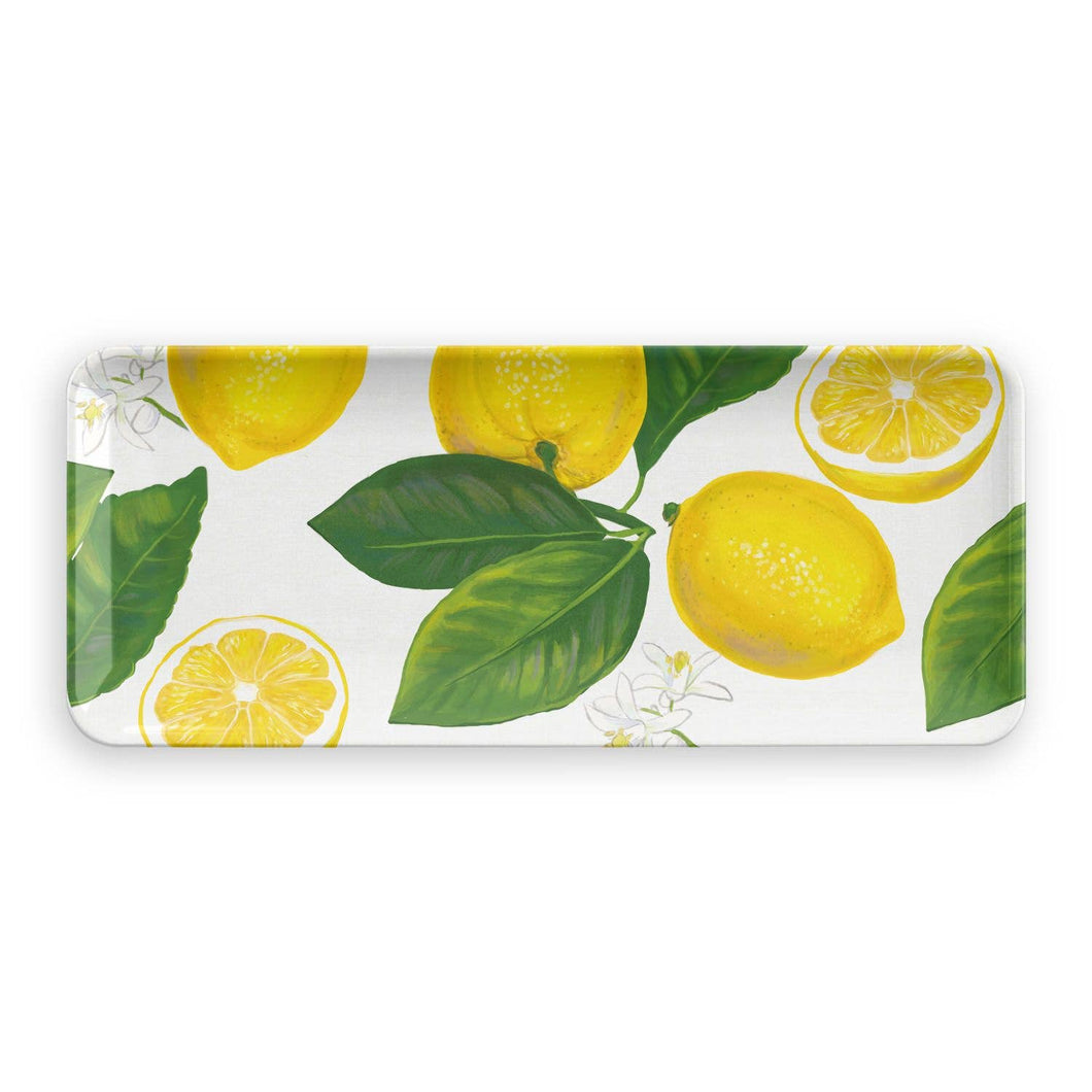 Melamine Lemon Appetizer Tray