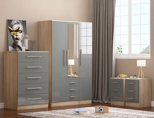 Reflections Bedroom Set in High Gloss Finish *Save £50*