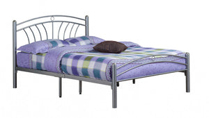 Tuscany Silver Metal Bed Frame