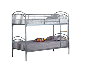 Alton Children's Bunk Bed shown in silver