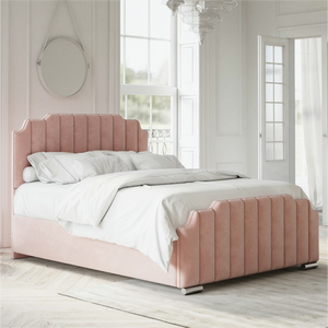 Pink Manhattan Inspired Bed Frame from The Mattress World