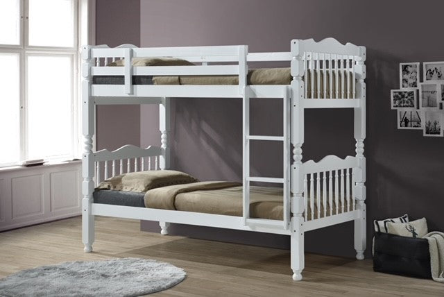 Amber White Childrens Bunk Beds