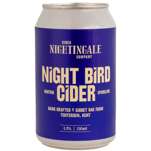 Night Bird Cider Cans