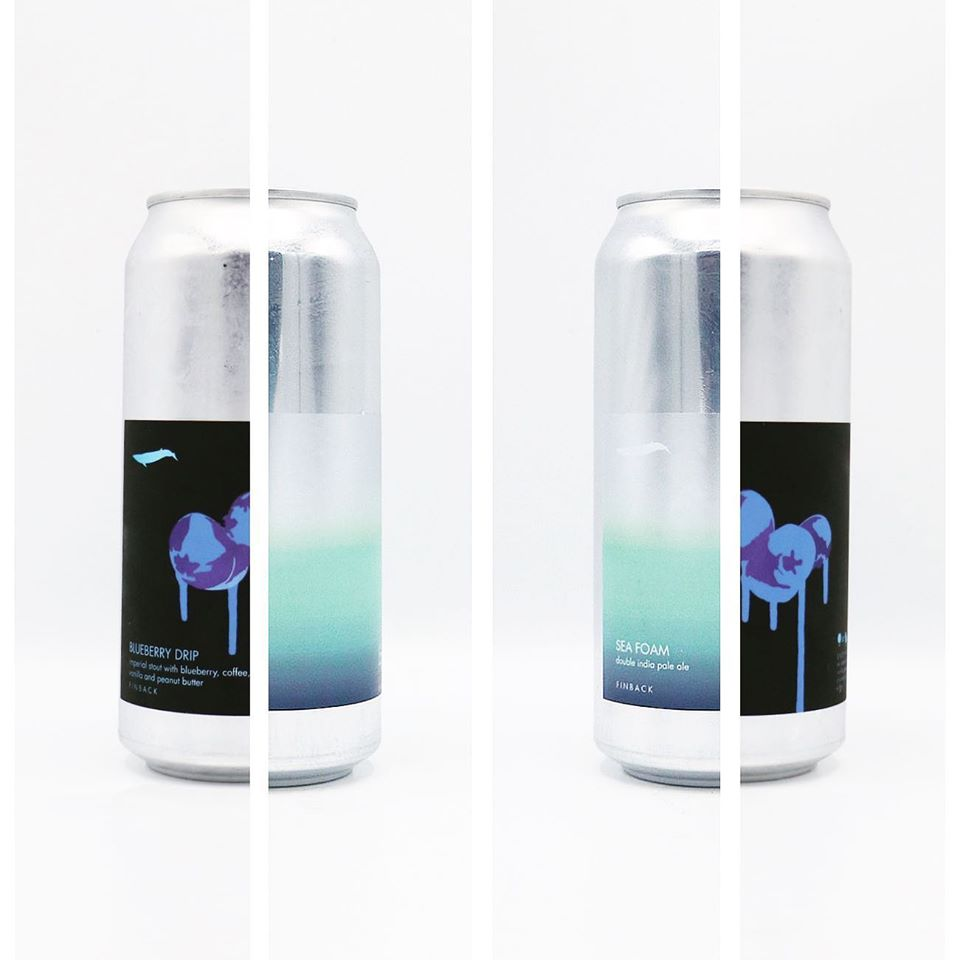 Finback Blueberry Drip Imperial Stout