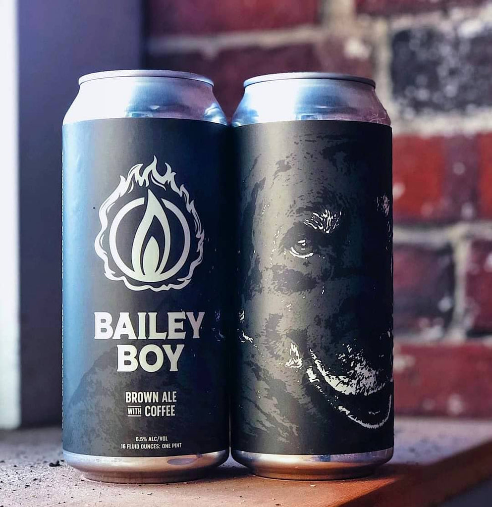 Blaze Brewing Bailey Boy Brown