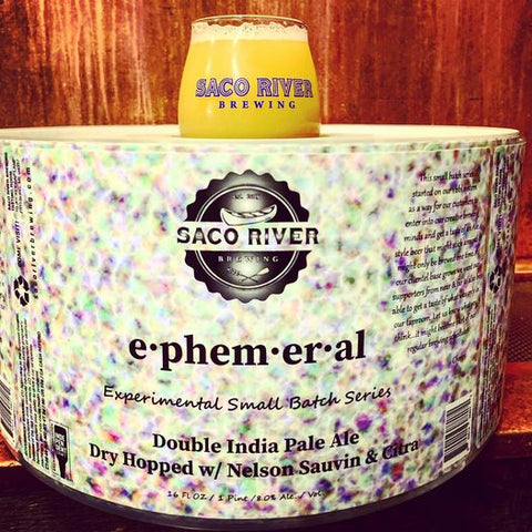 Saco River Brewing Ephemeral Pilot Series DIPA