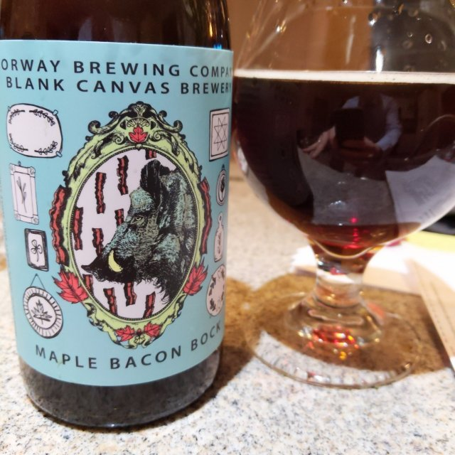 Norway/Blank Canvas Maple Bacon Bock