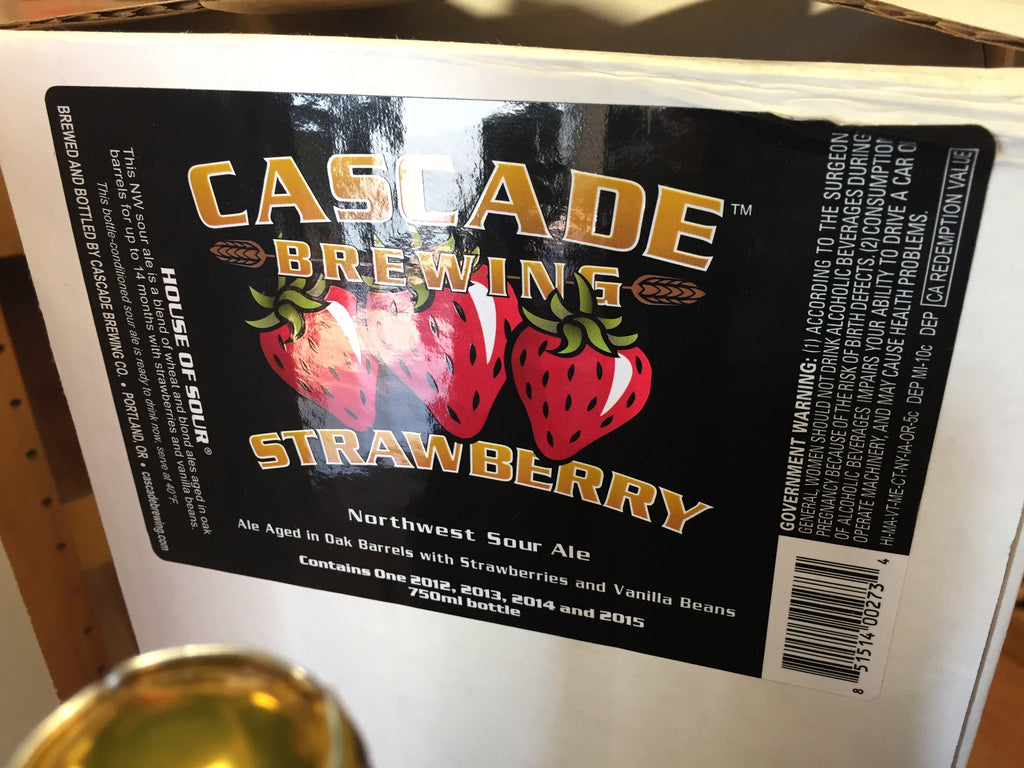 Cascade Strawberry Vertical