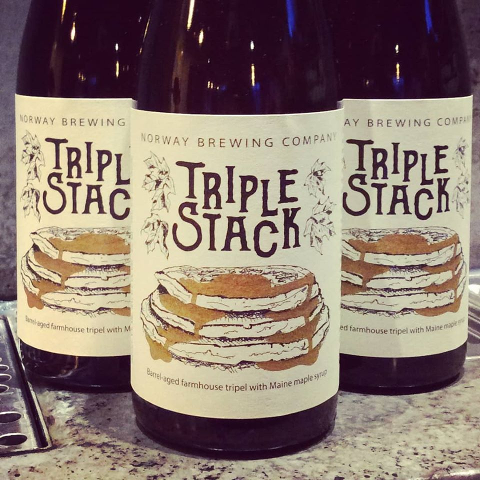 Norway Brewing Bourbon Barrel Triple Stack