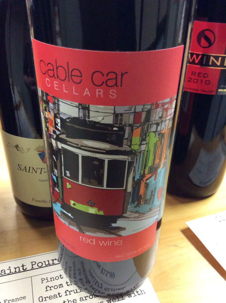 Cable Car Red Blend