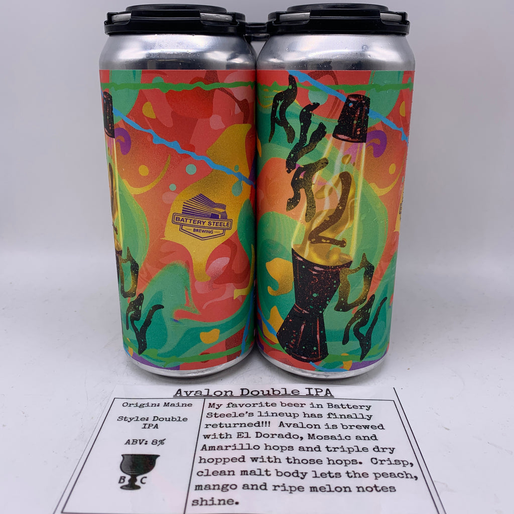 Battery Steele Avalon Double IPA