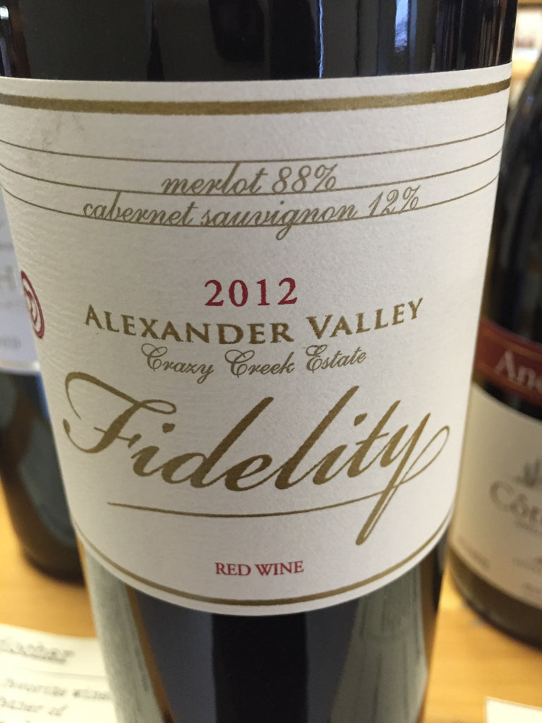 Fidelity Red Blend