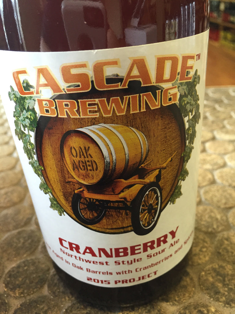 Cascade Brewing Cranberry Sour Ale