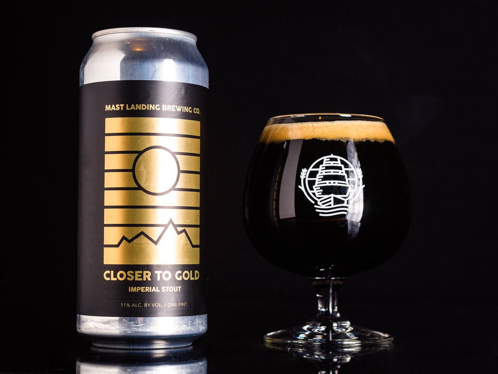 Mast Landing Closer To Gold Imperial Stout