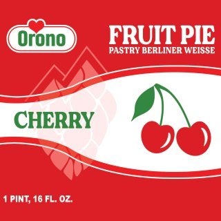 Orono Brewing Cherry Fruit Pie