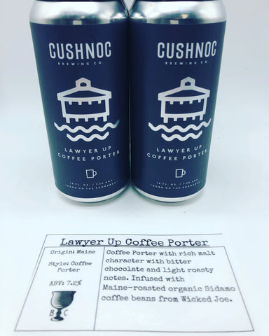 Cushnoc Lawyer Up Coffee Porter