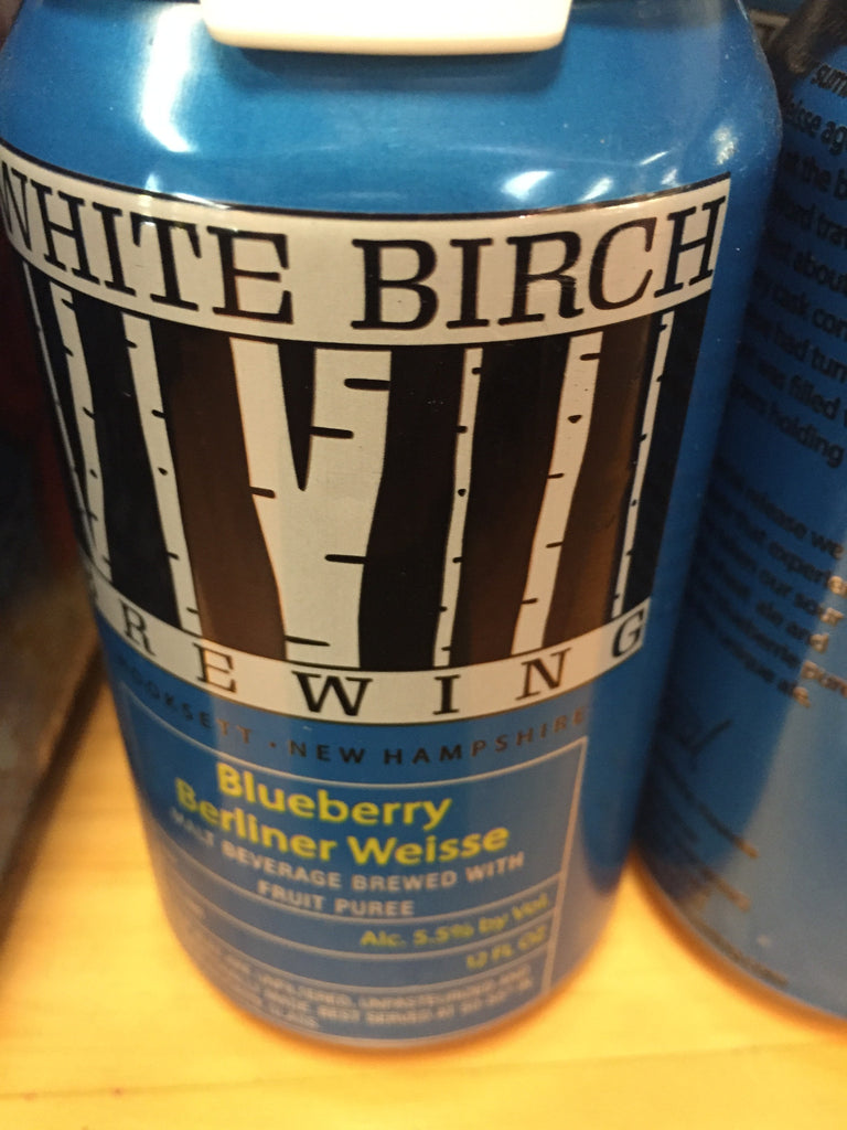 White Birch Blueberry Berliner Weiss
