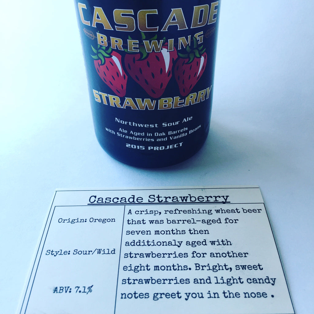 Cascade Brewing Strawberry