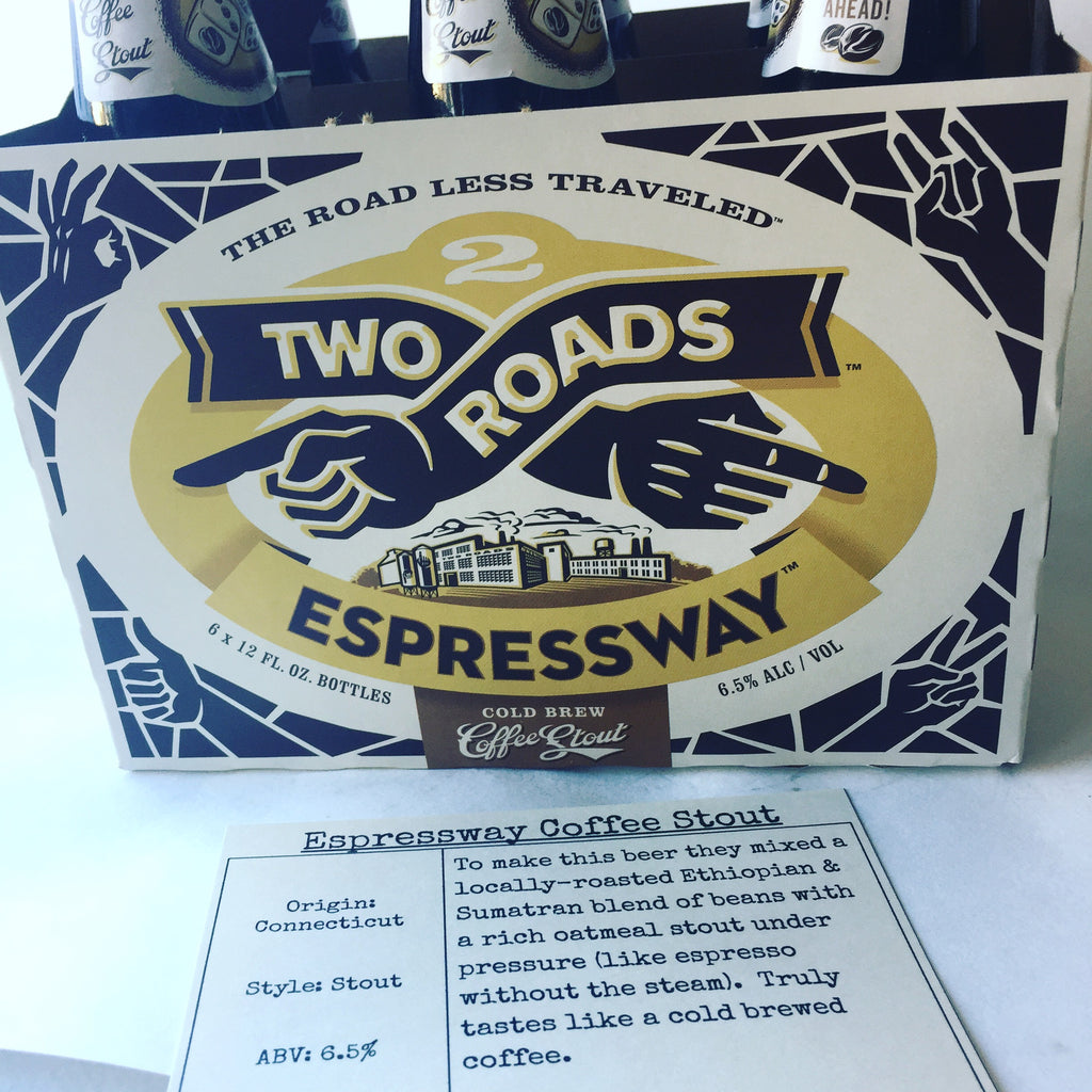 Two Roads Espressway Coffee Stout