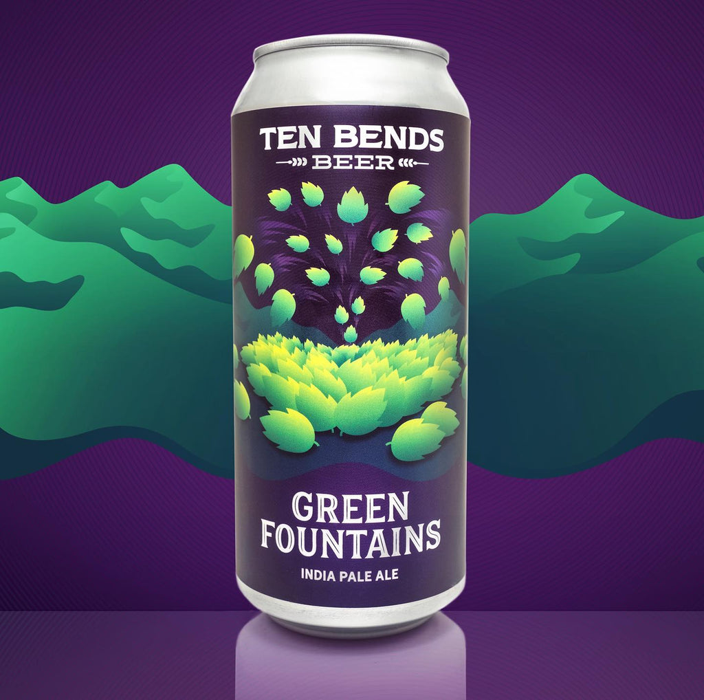 Ten Bends Green Fountains IPA