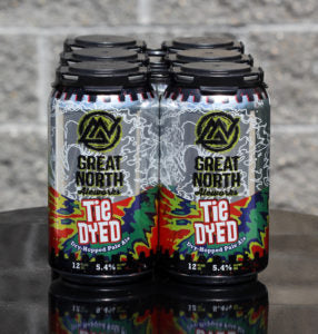 Great North Aleworks Tie Dyed Dry Hopped Pale