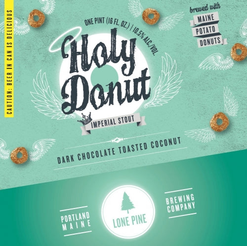 Lone Pine Holy Donut Toasted Coconut Imperial Stout