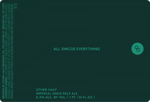 Other Half All Simcoe Everything DIPA