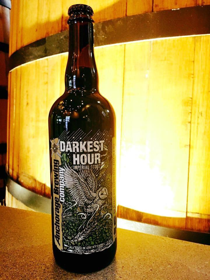 Anchorage Darkest Hour Whiskey Barrel