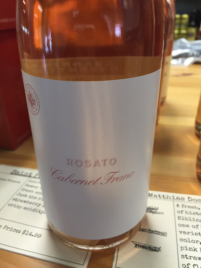 Channing Daughters Rosato Cabernet Franc