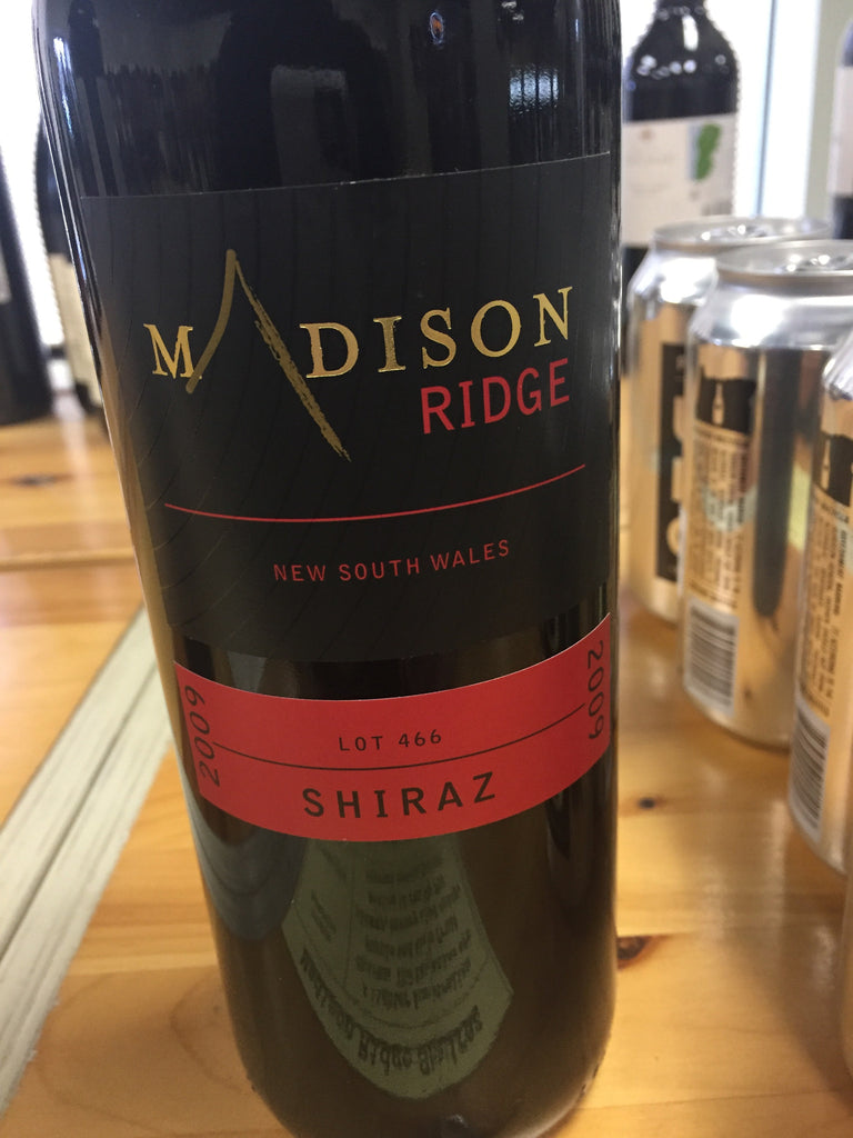 Madison Ridge Shiraz